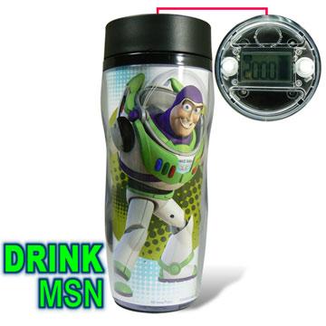 ~NHY DRINK MSN ~喝水提醒隨行杯巴斯光年