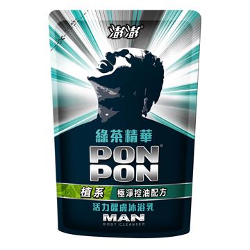 【澎澎MAN 】沐浴乳補充包綠茶多酚700g