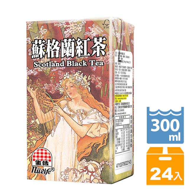 生活飲料-蘇格蘭紅茶300ccX24入                   Scottish Black Tea