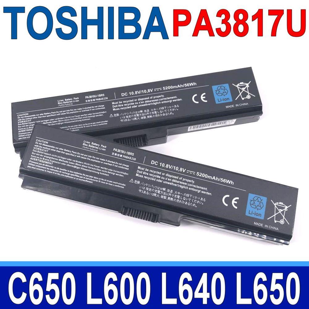 TOSHIBA電池 6芯 PA3818U C650 L600 L640 L650 L700 L730 L740 L750 L755 P750 PA3817U