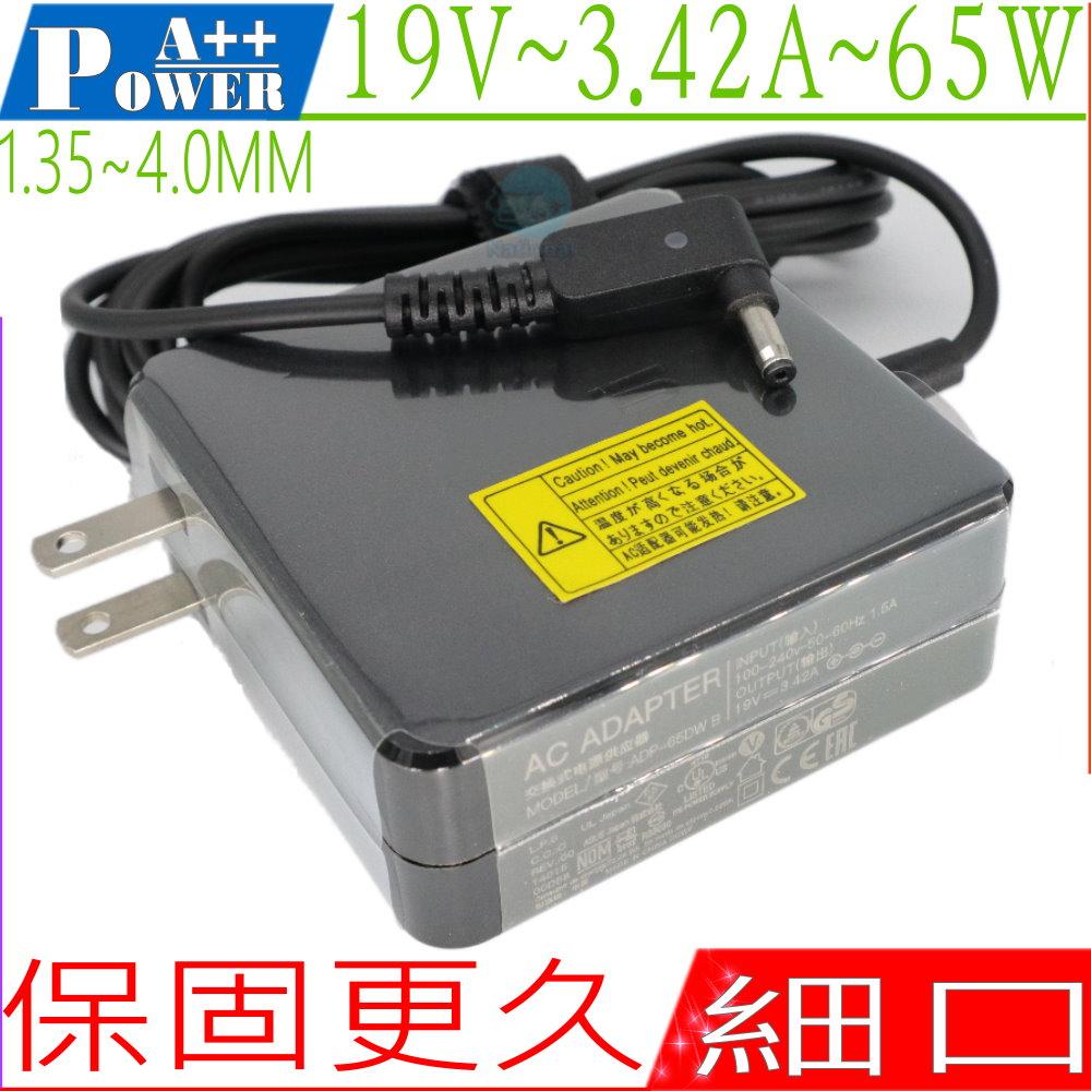 ASUS 變壓器 19V, 3.42A, 65W,BX31A, BX31E,BX31LA,TP300LD,X205,BX32VA,UX303LN,X540SA,X540LA,X556UR
