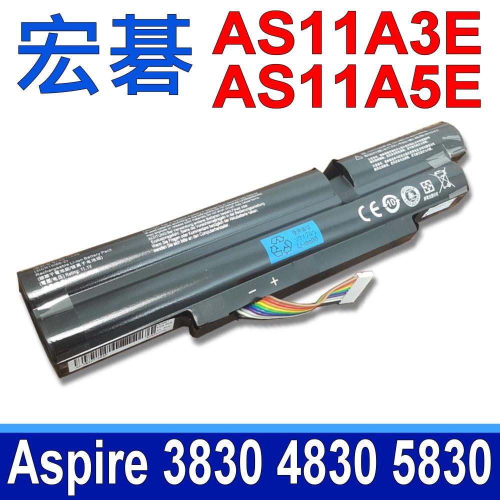 ACER電池 AS11A5E AS11A3E ASPIRE 3830TG 4830TG 5830TG ID47H ID57H 3INR18/65-2