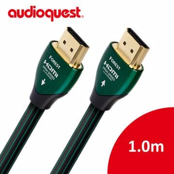 ~全面支援真4K HDR 美國線聖Audioquest HDMI Forest 森林1 0m 支援4K 3D