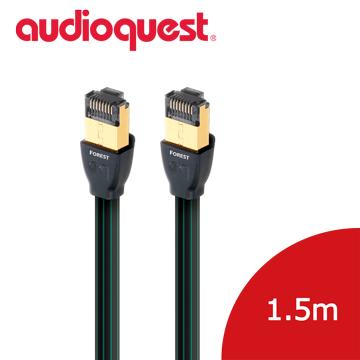 美國線聖Audioquest RJ E Forest Ethernet Cable 高速 線Cat 7 1 5m