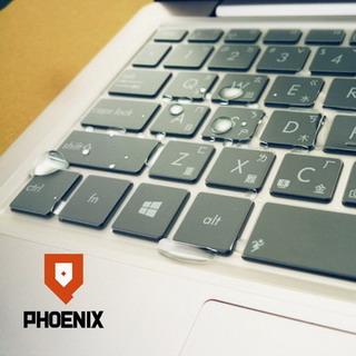 『PHOENIX』DELL Inspiron 13 7000 專用 超透光 非矽膠 鍵盤保護膜