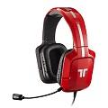 TRITTON PRO+真實 5.1聲道環繞音效耳機 法拉利紅 Xbox 360/PS3/PC專用
