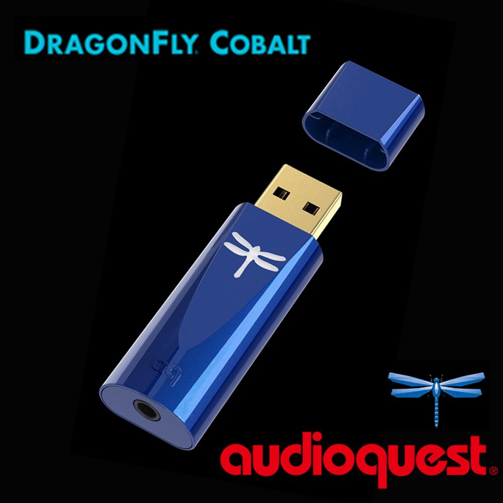 Audioquest DragonFly USB DAC COBALT 數位轉類比 耳機擴大機 (第四代 COBALT版) 藍蜻蜓