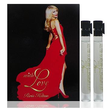 Paris Hilton With Love 藏愛女性淡香精1 5ml x 2