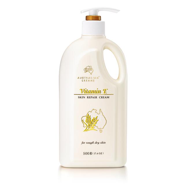 【澳洲G&M】維他命E羊毛脂皮膚滋養霜(家庭號) 500g/瓶