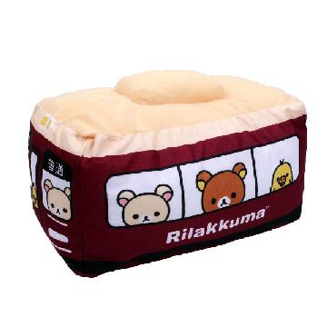 限定Rilakkuma x Hankyu 拉拉熊阪急電車聯名系列抱枕