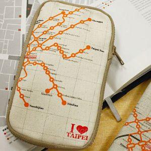 Ultrahard 城市印象筆袋系列I love Taipei