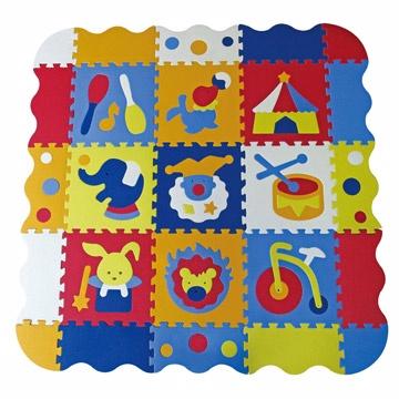 ~BabyTiger 虎兒寶~MIT 遊戲爬行地墊莊園系列微笑馬戲團