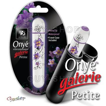 ~白紫~B3 Onye Galerie ™Petite 奧尼慧星藝廊系列迷你按摩器享受藝術
