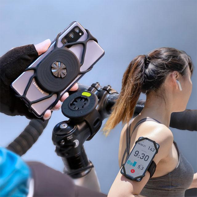 Bone / Tie Connect 單車+跑步綁接套組 _ 限量加贈超人氣頸掛手機綁*1