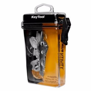 TRUE UTILITY KeyTool 8 合1 迷你鑰匙圈工具組
