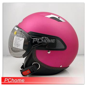 【ZEUS 瑞獅 ZS-212C 消光珍珠糖果桃紅 素色 安全帽 】內襯全可拆洗、雙層鏡片