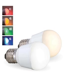 舞光LED E27 3W 廣角全電壓燈泡綠