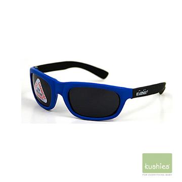 加拿大Kushies 嬰幼兒 抗UV 太陽眼鏡藍色