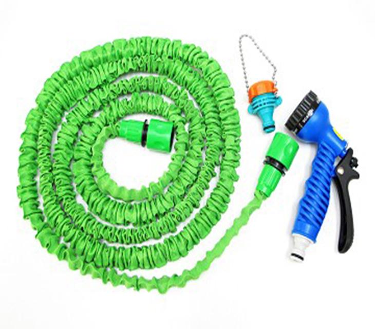 伸縮水管綠色2 5 米注水後7 5 米