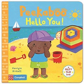 Felty Flaps:Peekaboo,Hello You! 誰在玩躲躲貓:海邊玩耍篇 翻翻操作硬頁書(外文書)