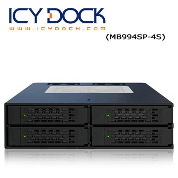 全金屬UL ICY DOCK ToughArmor 四層式2 5 吋SATA SAS HD