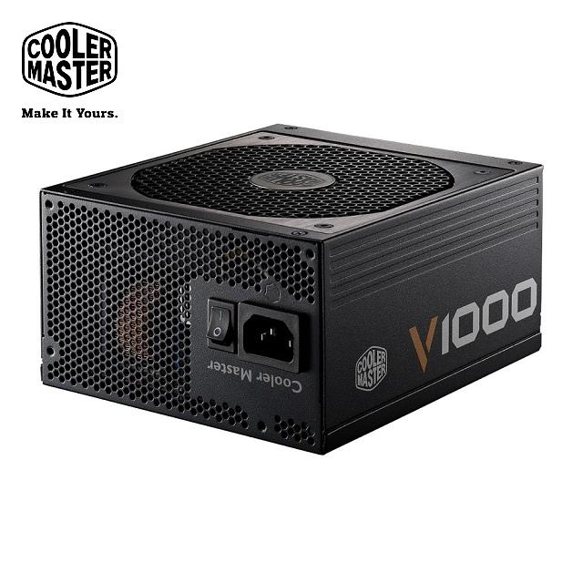 Cooler Master V 全模組化80Plus 金牌1000W 電源 器
