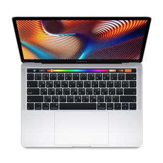 MacBook Pro13 Touch Bar: 2.3GHz quad-core 8th- Intel Core i5, 256GB - Silve