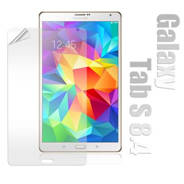 Samsung Galaxy Tab S 8.4 T700 / T705 高透光亮面耐磨保護貼