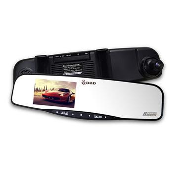 DOD RX400W GPS 後視鏡高畫質行車紀錄器加碼送16G 記憶卡