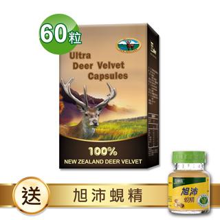 【瓦特爾】紐西蘭鹿茸60粒+白蘭氏旭沛蜆精*4瓶